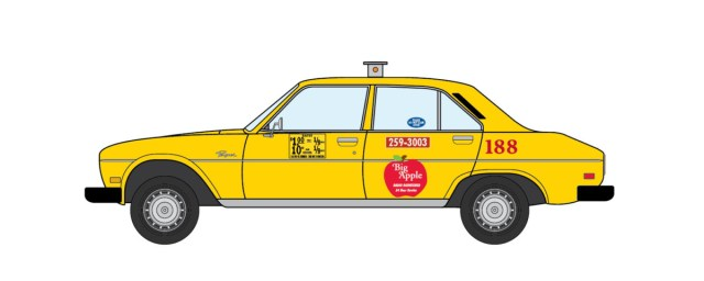 1980 Peugeot 504 NYC Taxi