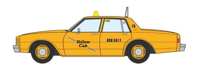 1981 Chevrolet Impala Louisville Yellow Cab
