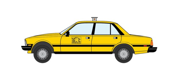 1981 Peugeot 505 NYC Taxi
