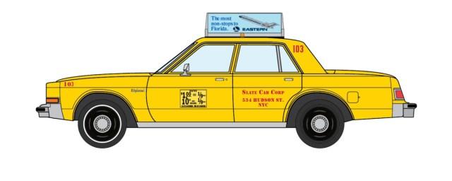 1982 Dodge Diplomat NYC Taxi