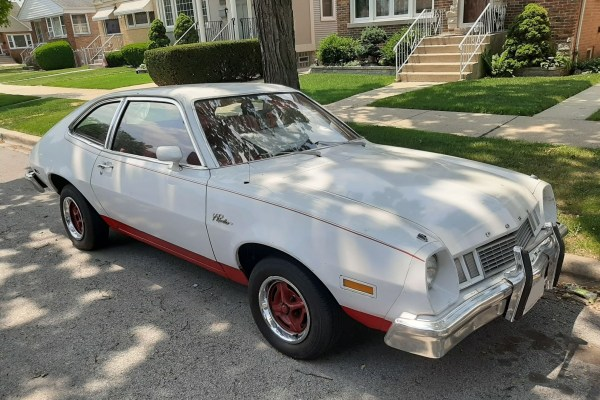 1977 or '78 Ford Pinto. Chicago, Illinois. June 2021.