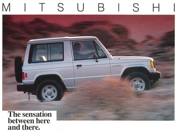 1987 Mitsubishi Montero ad