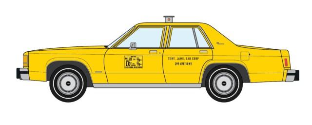 1983 Ford LTD Crown Victoria NYC Taxi
