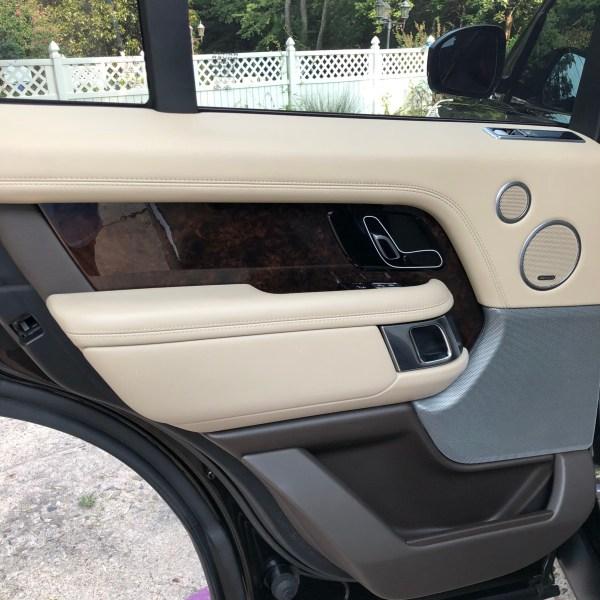 2018 Range Rover rear door card