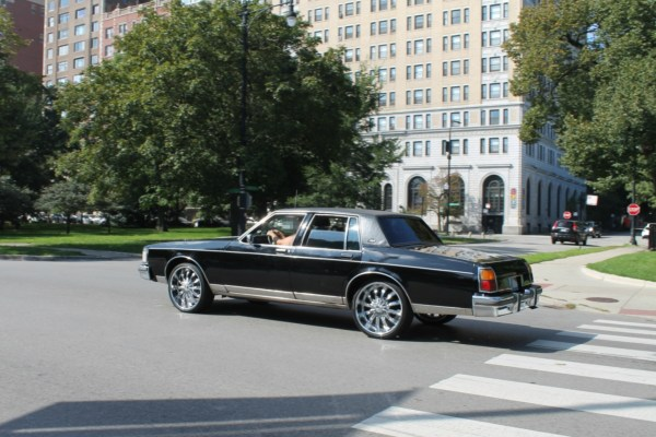 1985 Oldsmobile Delta 88 Royale. Lincoln Park, Chicago. Sunday, September 16, 2018.