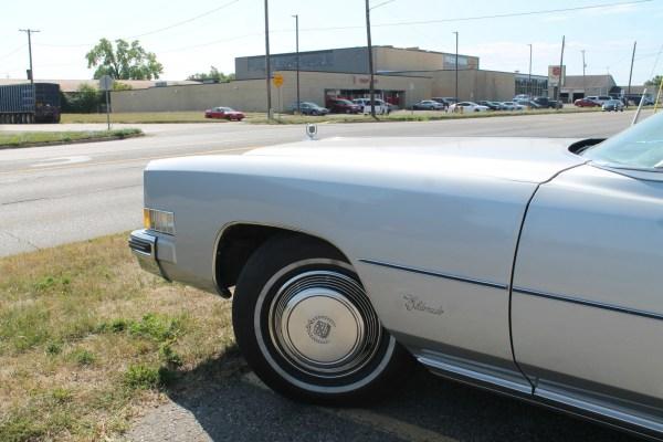 1973 Cadillac Eldorado. Flint, Michigan. Wednesday, August 14, 2019.