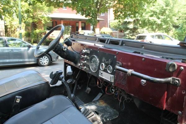 c. 1981 Jeep CJ-7. Rogers Park, Chicago, Illinois. Sunday, August 4, 2019.