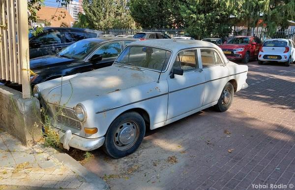 1966 Grey Volvo Amazon