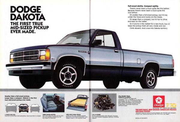 1987 Dodge Dakota ad
