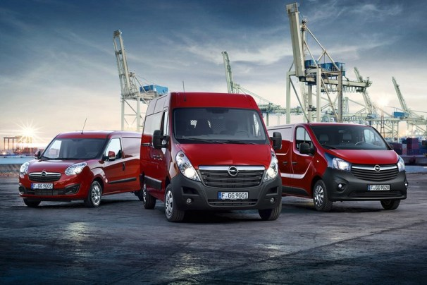 Opel vans - previous generation
