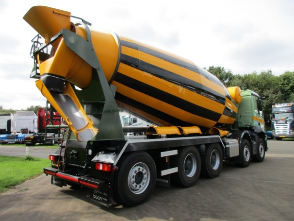 2021 MB Arocs 10x4 - Mulder H-16 concrete mixer - 2