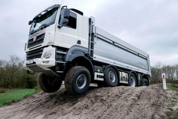 Tatra Phoenix 8x8 dump truck