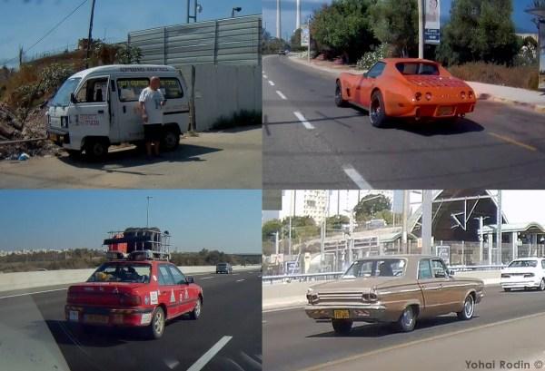 Suzuki Carry, C3 Corvette, Dodge Dart, Mazda 323