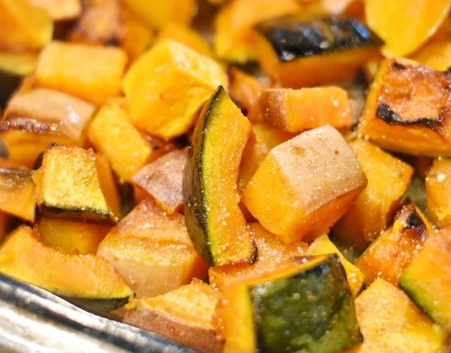 This Cinnamon and Honey Spiced Winter Squash