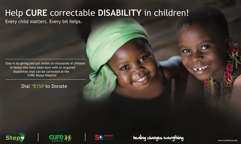 step in donate disability banner