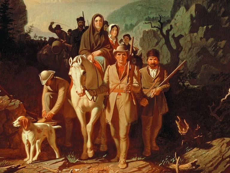 Daniel Boone : l'homme qui ouvrit la porte du Far West