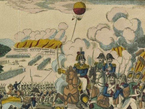 Bataille de Fleurus : la première utilisation militaire d'un ballon d'observation