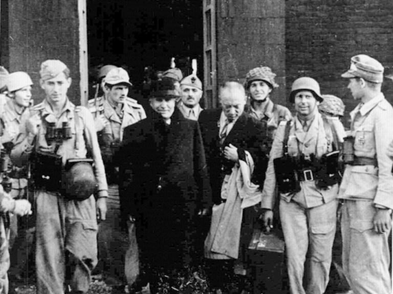 Mussolini raconte sa captivité et sa libération