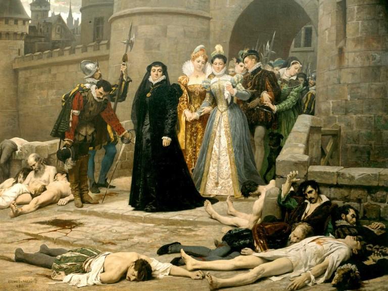 Le massacre de la Saint-Barthélemy : effroyable carnage «divin»