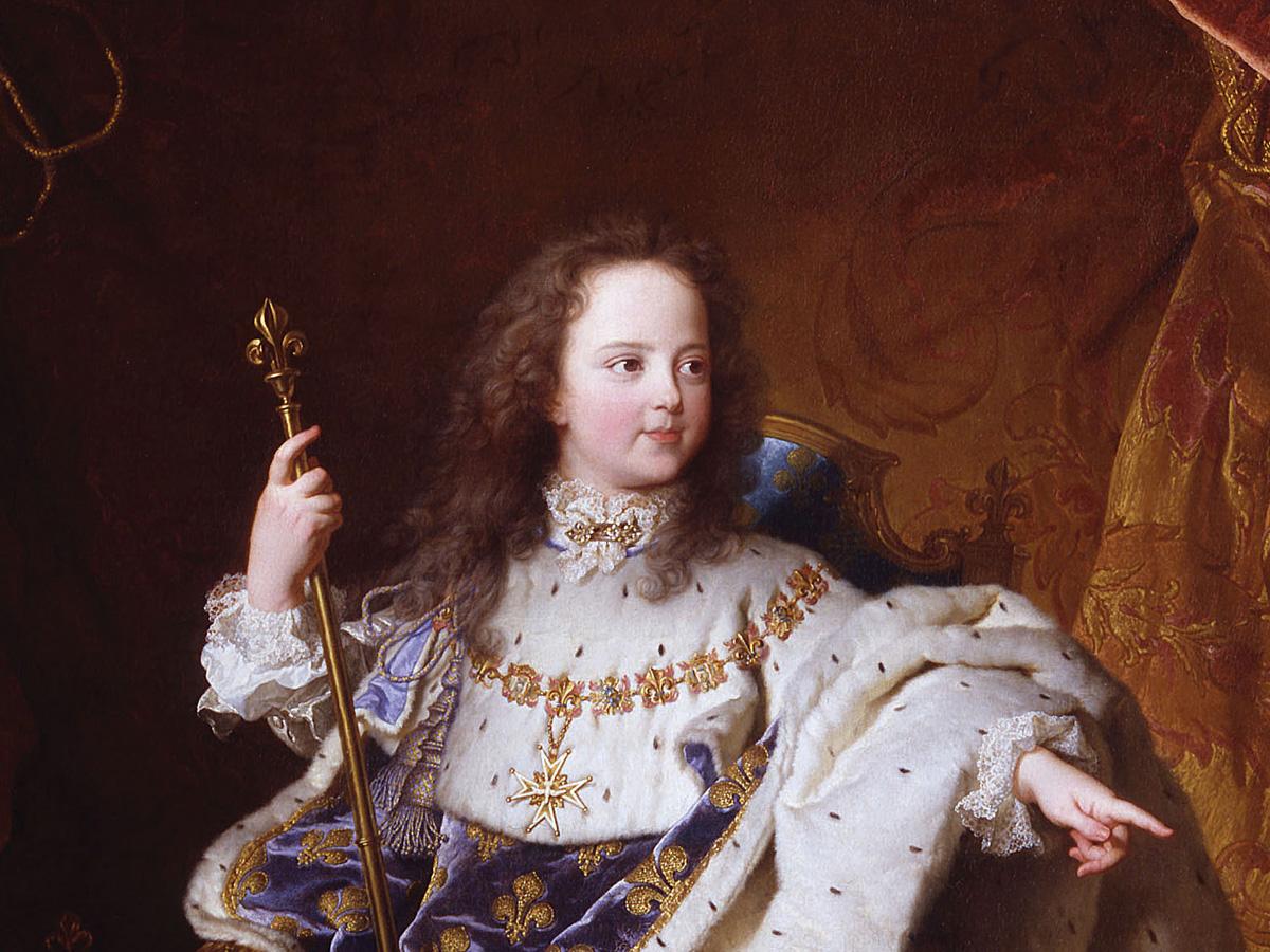 Louis XV le Bien-Aimé : roi-enfant, enfant-roi…