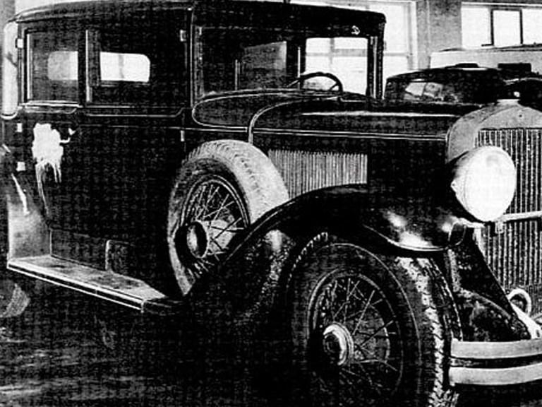 Franklin Roosevelt a emprunté la voiture d'Al Capone
