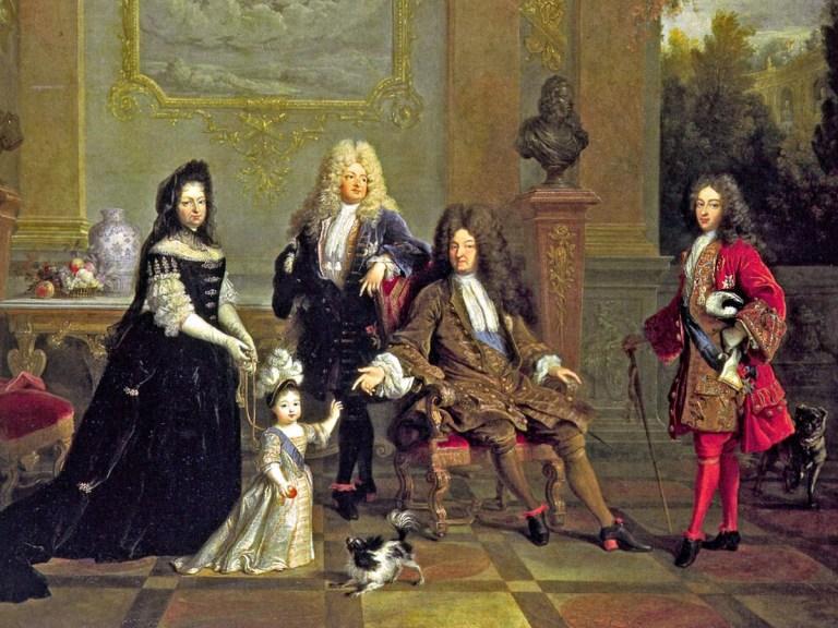 Le royal et délicat palais de Louis XIV