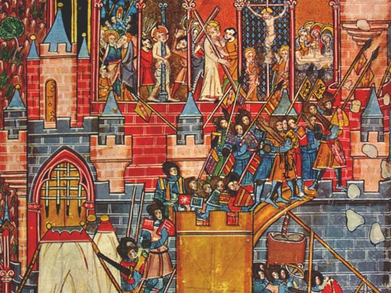 Seul un croisé sur dix atteignait Jérusalem !