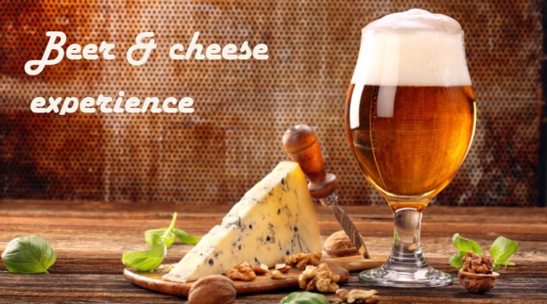 Beer and Cheese experience