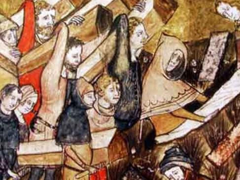 La peste noire au XVIIe siècle