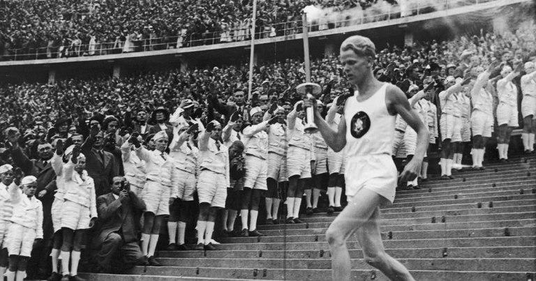 La flamme olympique est une invention nazie !