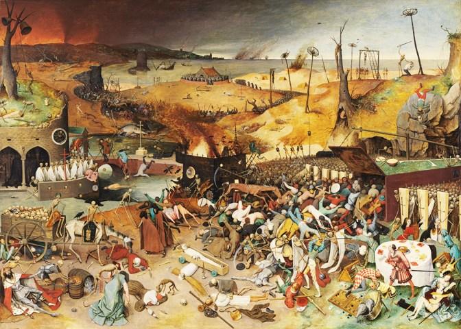 Le Triomphe de la Mort, par Pieter Brueghel l'Ancien (1562)