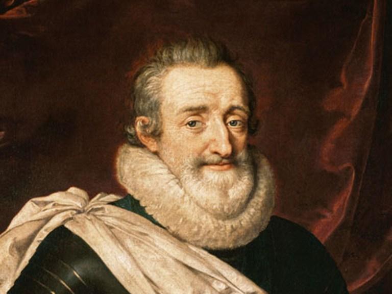 Ce dépravé d'Henri IV !