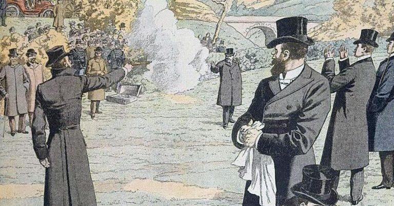 Décembre 1904 : Pacifiste, Jean Jaurès défend ses idées à coup de pistolet lors d'un duel