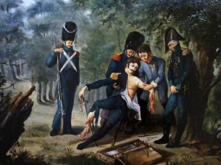 Un Français fut spécialiste de la chirurgie sur champ de bataille