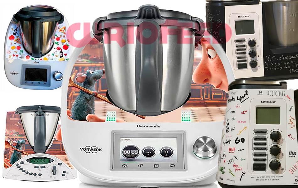 La moda de poner pegatinas a los robots de cocina