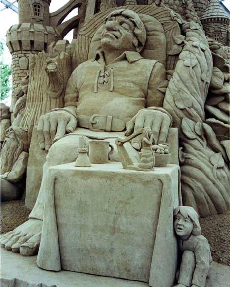 danbelcher2 Sensacionais Esculturas de Areia