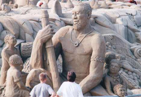 sandsational1 Sensacionais Esculturas de Areia