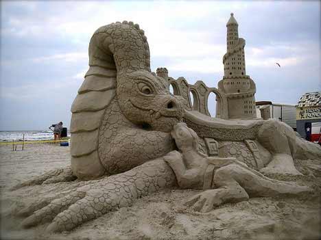walter1 Sensacionais Esculturas de Areia