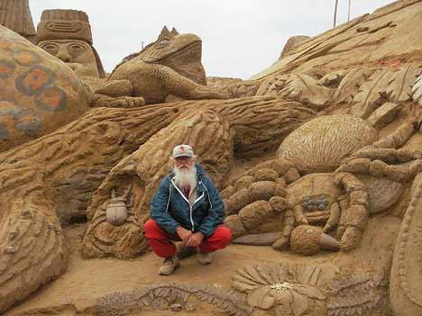 walter2 Sensacionais Esculturas de Areia