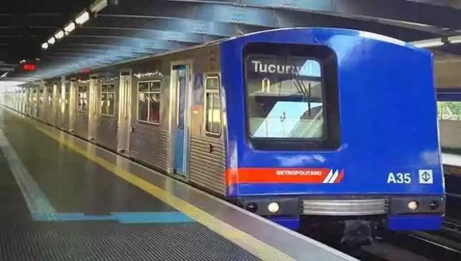 trem e metrô sp