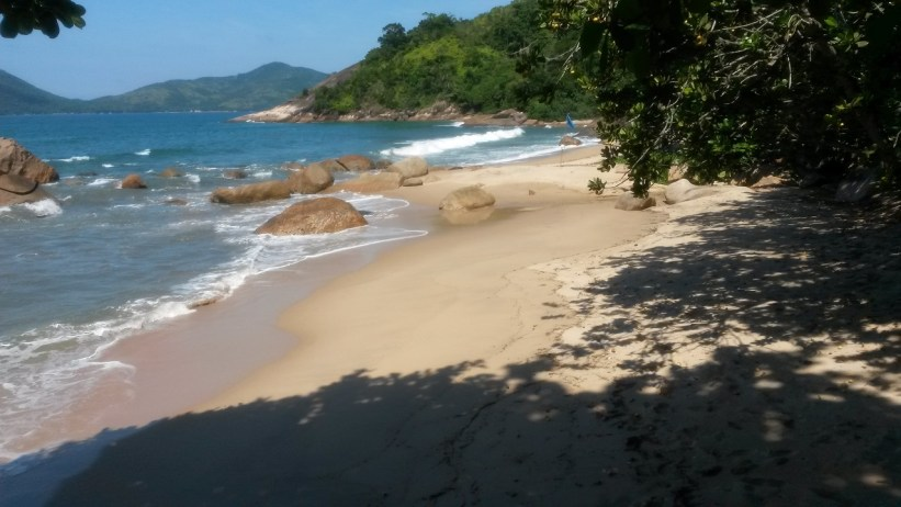 Praia do Tapiá - Trilha da Ponta da Espia - Ubatuba
