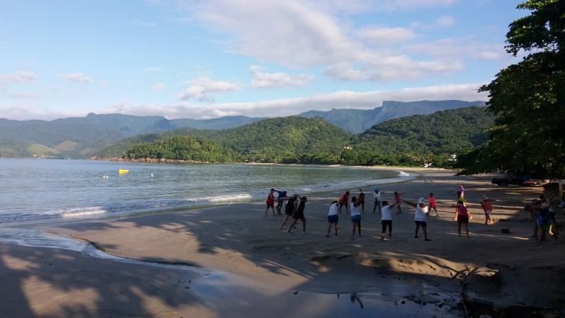Praia do Lázaro - amanhecer