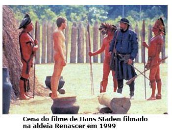 Hans Staden - Filmado em Ubatuba