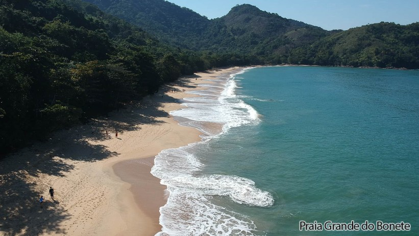 Praia Grande do Bonete - Ubatuba