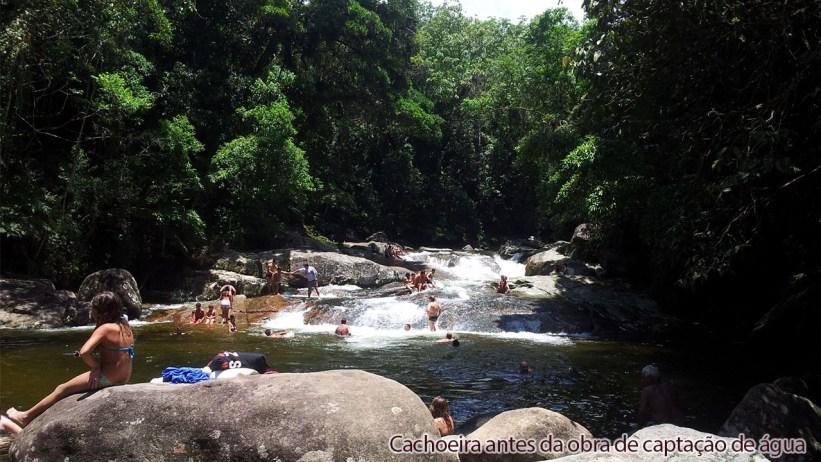Cachoeira da Renata antes da captação