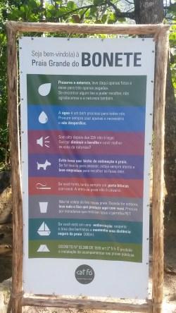 Trilha Praia Grande do Bonete - Cedro