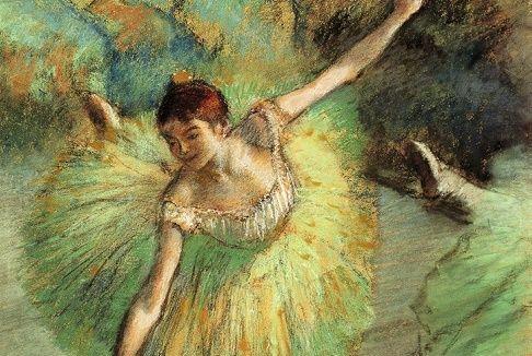 Edgar degas bailarina inclinada  Curiosidario
