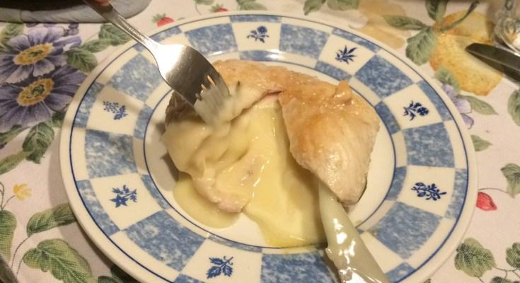 petto di pollo ripieno filante