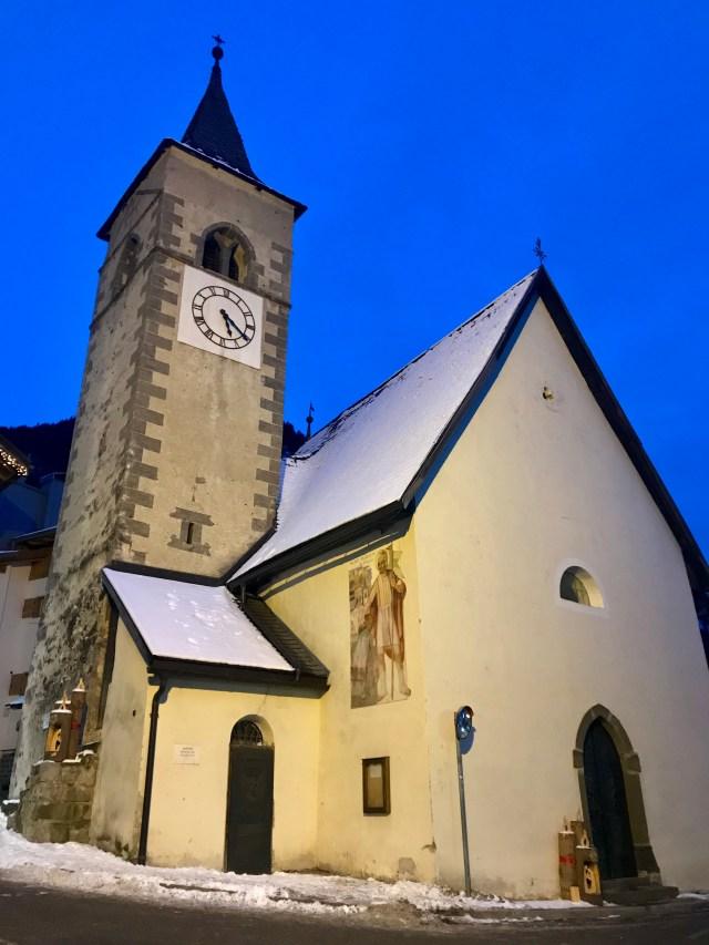 Chiesa San Floriano, Canazei