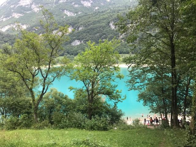 6 giorni intorno al lago di garda, Lago di Tenno